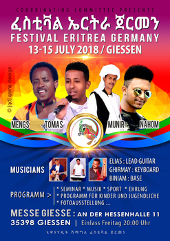 Festival eritrea germany 2018   artists  from eritrea